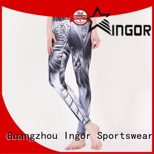 Quality INGOR Brand ladies leggings print women