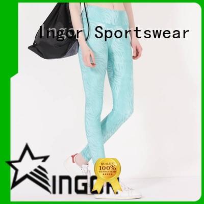 convenient yoga leggings blue on sale for women