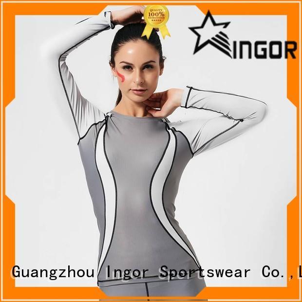 INGOR quick dry Black Sweatshirt on sale at the gym