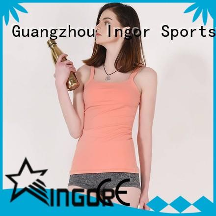 INGOR yoga tank top with high quality for sport