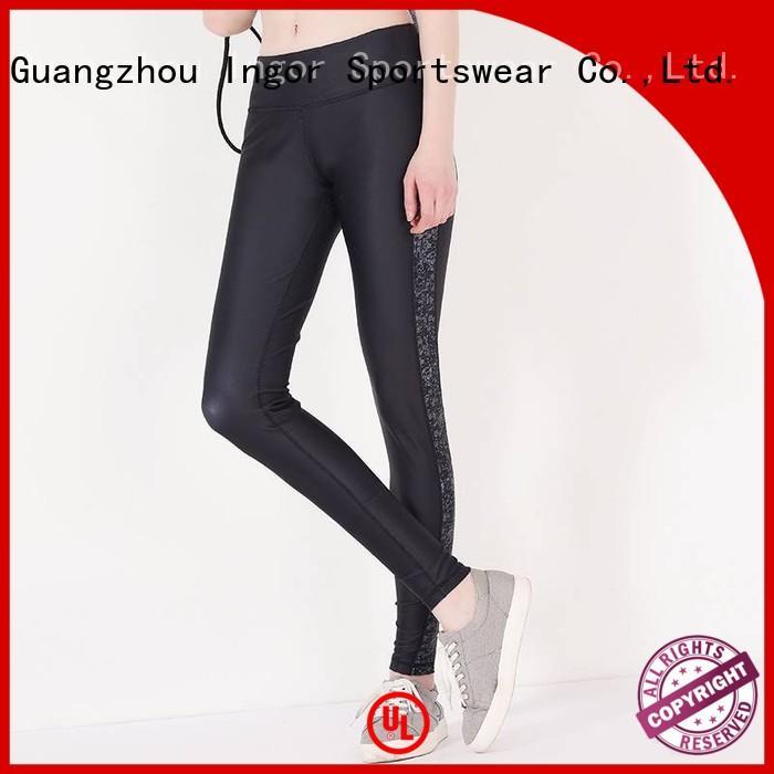 ladies leggings capri fashion yoga pants manufacture