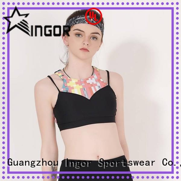 INGOR Brand padded colorful sports bras ingor supplier