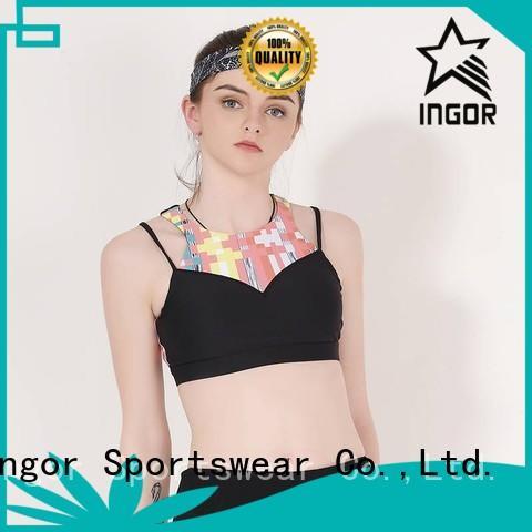 designer sports bra strappy women INGOR company