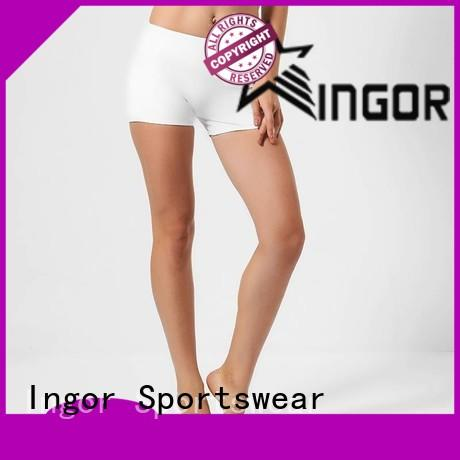 online womens shorts waisted with high quality for yoga