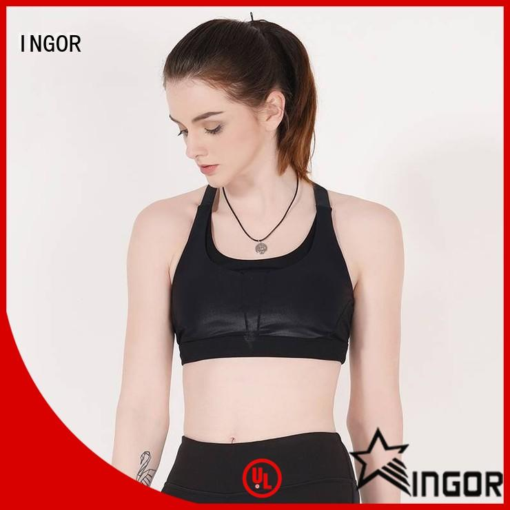 INGOR breathable sports bra with straps on sale for women