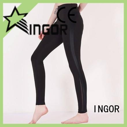 INGOR convenient cropped yoga leggings with high quality