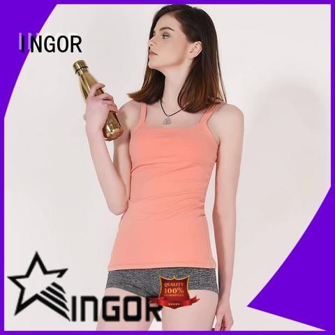 INGOR soft yoga tops on sale for ladies