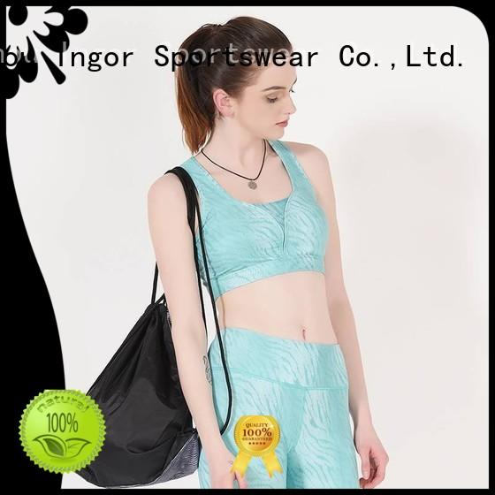 Wholesale quality colorful sports bras INGOR Brand