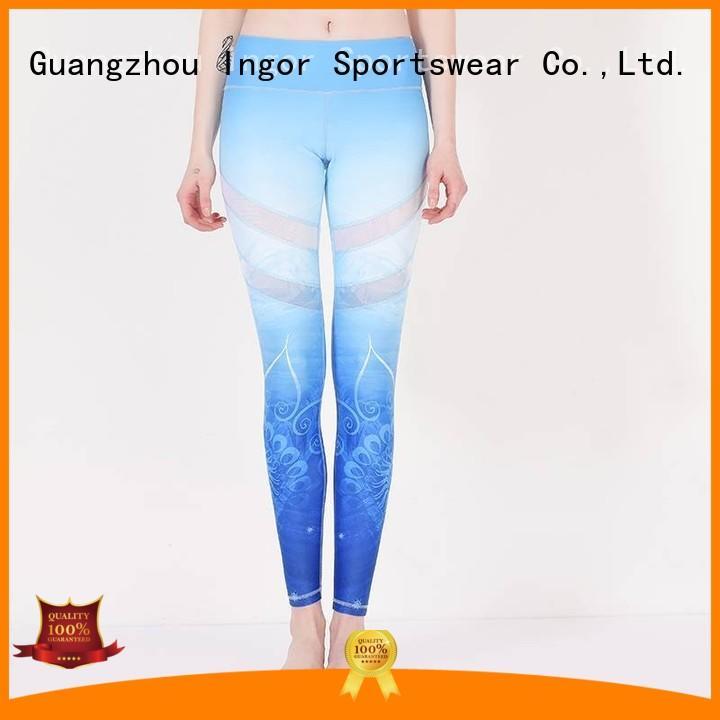 Custom sexy womens yoga pants INGOR workout