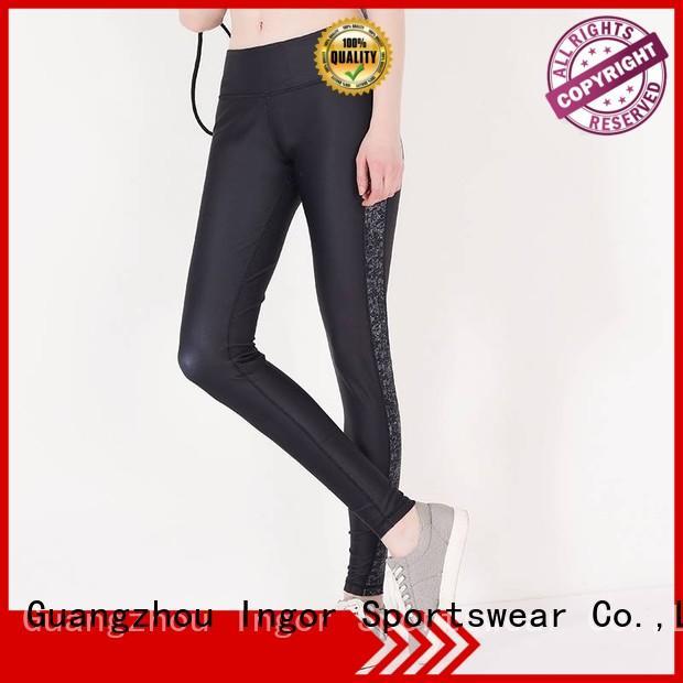 ladies leggings spandex printed yoga pants INGOR Brand
