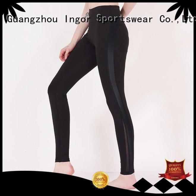 spandex sports tights yoga pants INGOR