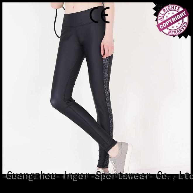 plain women activewear yoga pants INGOR