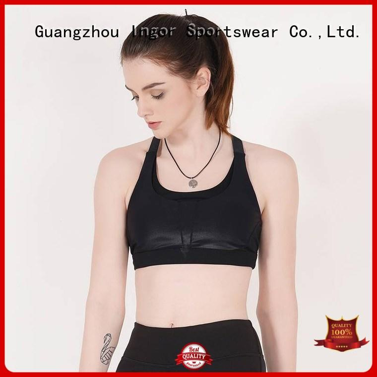 INGOR soft ladies sports bra to enhance the capacity of sports for girls