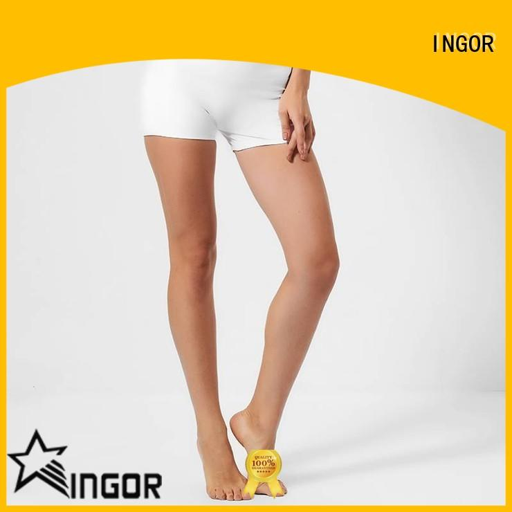 INGOR workout womens shorts with high quality for yoga
