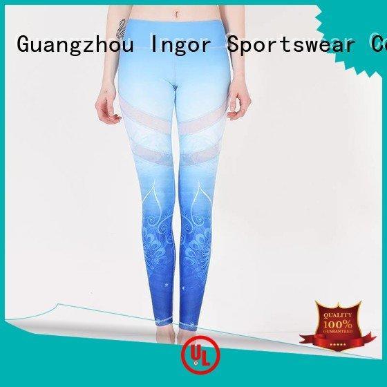 Hot ladies leggings tight yoga pants activewear INGOR