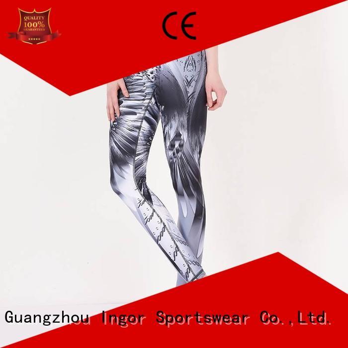 ladies leggings sports yoga pants INGOR Brand
