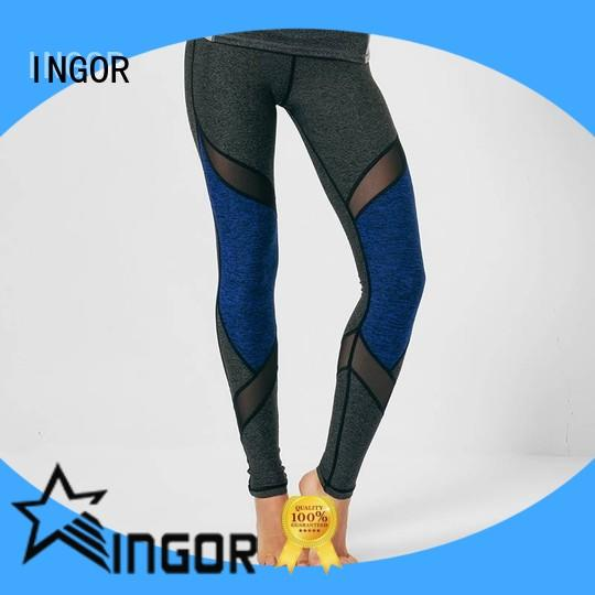 INGOR dress leggings with four needles six threads for girls