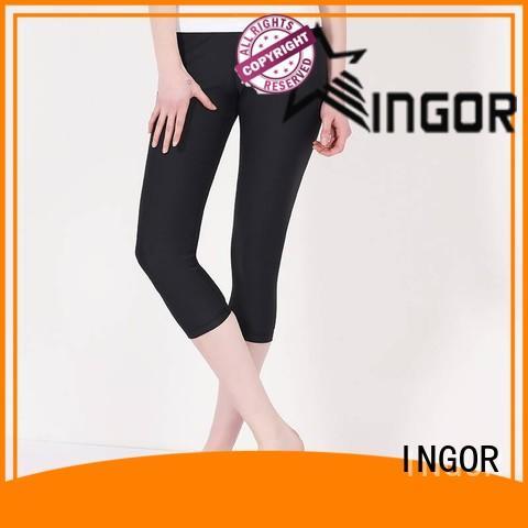 INGOR plain running pants women on sale