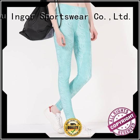 plain women sexy yoga pants INGOR