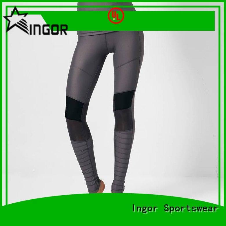 INGOR durability good yoga leggings on sale