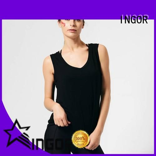 women women's workout tank tops blank for ladies INGOR