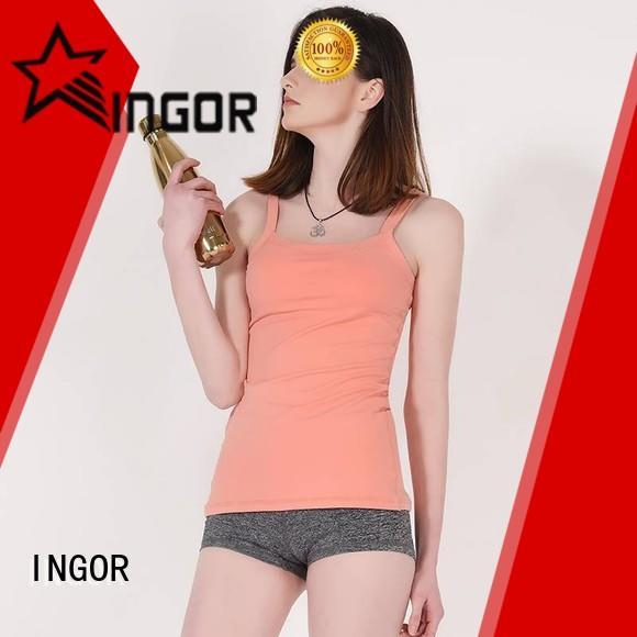 summer women's black tank top fashion for women INGOR