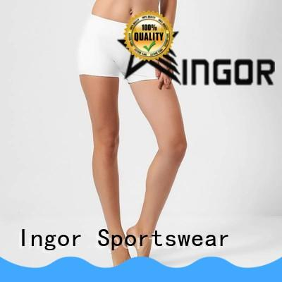 INGOR womens yoga shorts with high quality for yoga