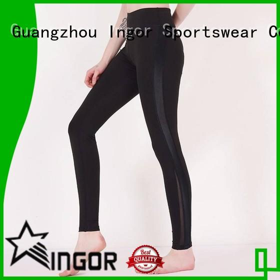 Custom workout yoga pants waist INGOR