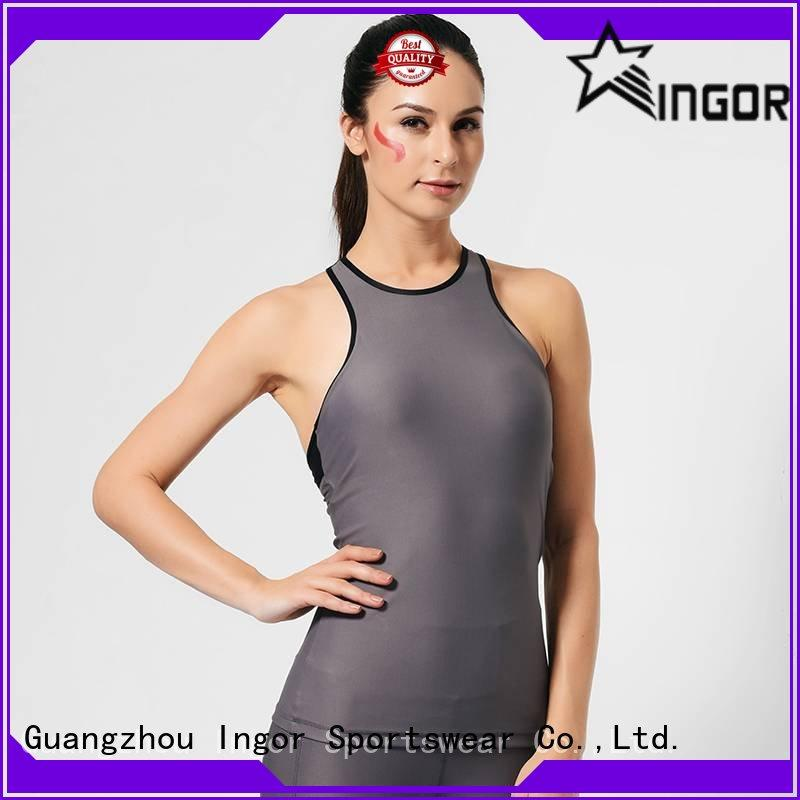 custom yoga tops sports with high quality for yoga