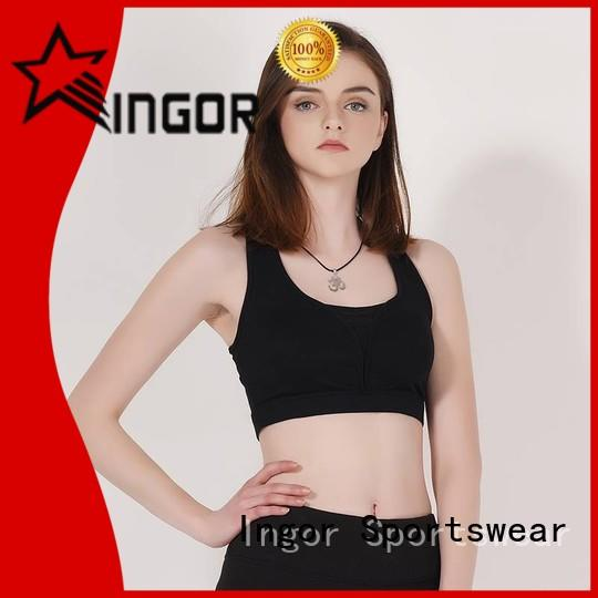 soft sports bra neck with high quality for ladies
