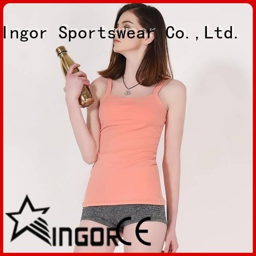 INGOR top yoga tops with high quality for girls