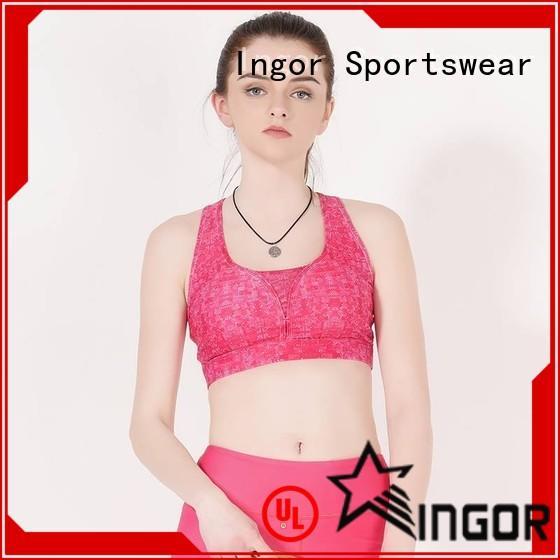 INGOR custom compression sports bra on sale at the gym