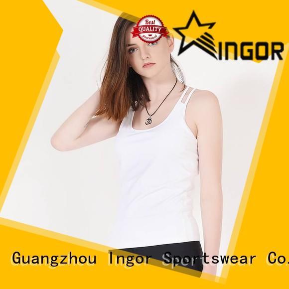 INGOR yoga tops with high quality for yoga