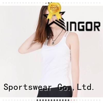 women's workout tank tops workout plain cross Warranty INGOR