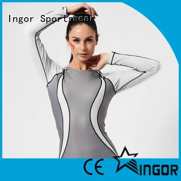 INGOR running modern sweatshirt with drawstring design at the gym
