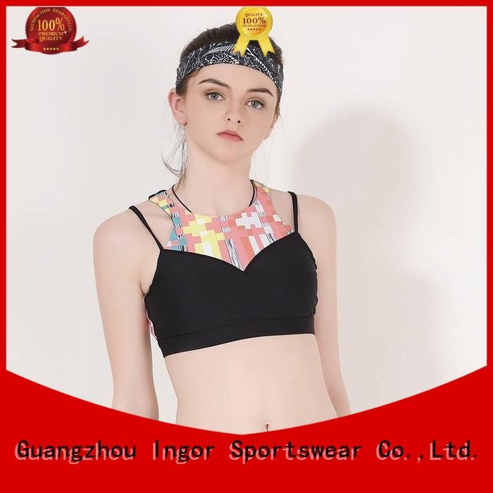 racerback ladies with bra  on sale for women INGOR