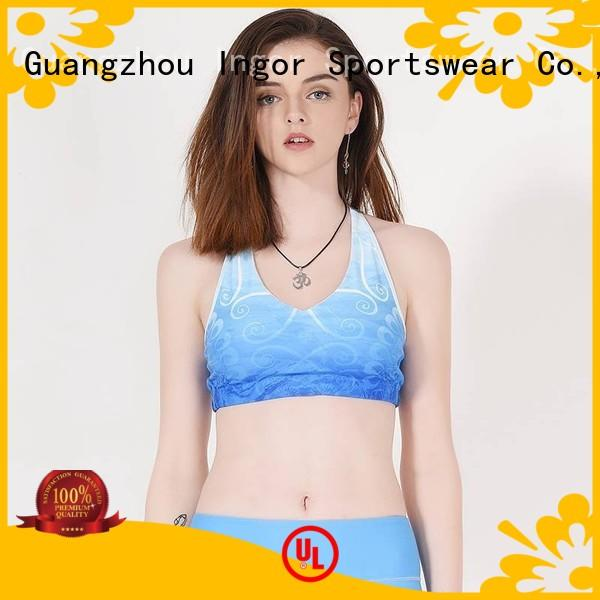 colorful sports bras companies INGOR Brand sports bra