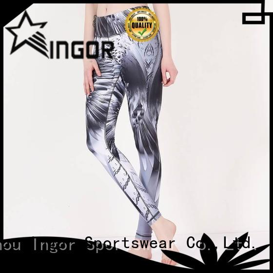 ladies leggings  plain dress yoga pants printed INGOR Brand