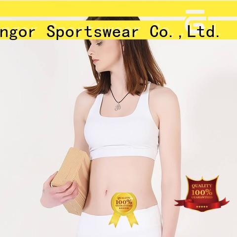 running racerback bra burgandy for ladies INGOR