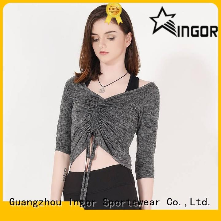 different modern sweatshirt drawstring with high quality for ladies