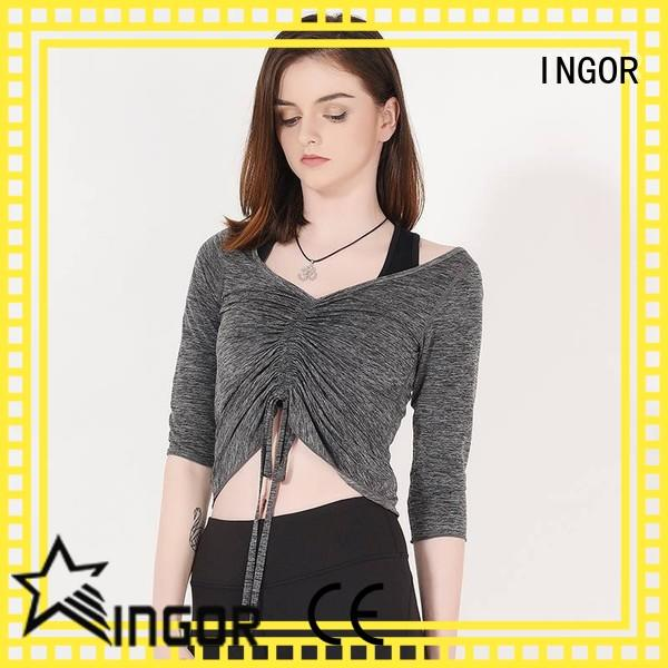 INGOR yoga Sports sweatshirts to keep you staying clean and dry at the gym