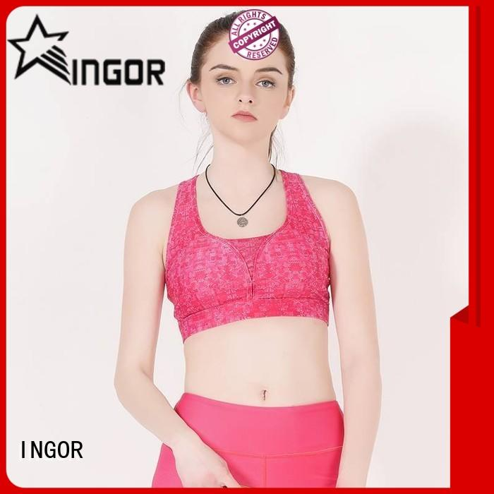 soft black zip up sports bra companies with high quality for ladies