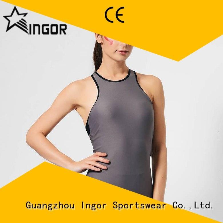 INGOR fashion yoga tops on sale for ladies