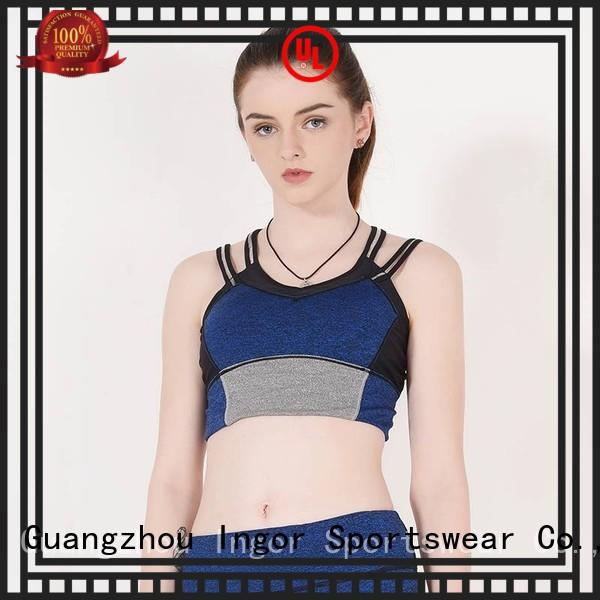 INGOR Brand racerback colorful sports bras ingor supplier