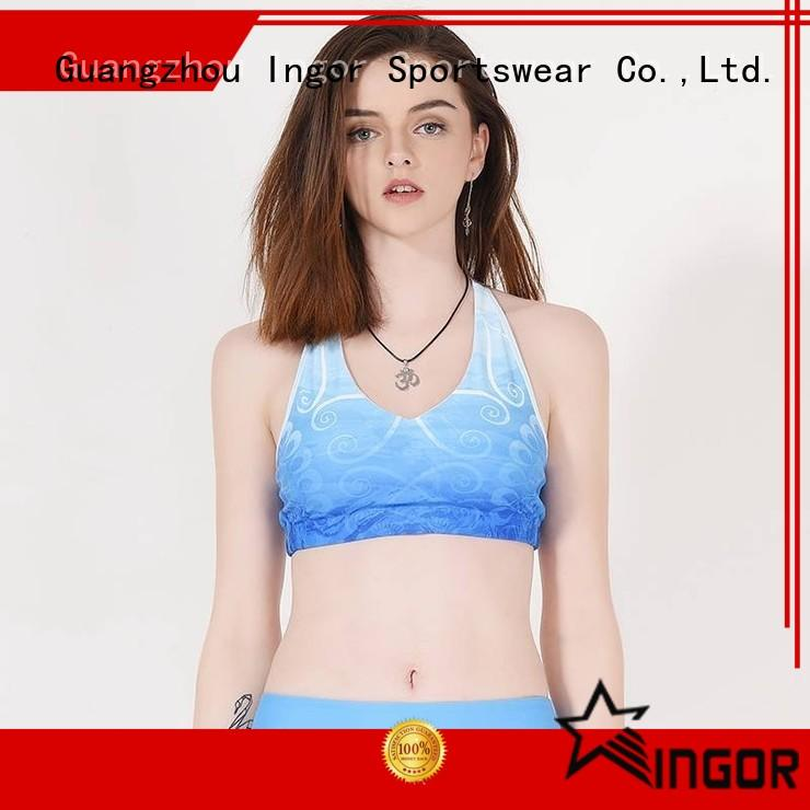 INGOR soft fitness bra designer for girls