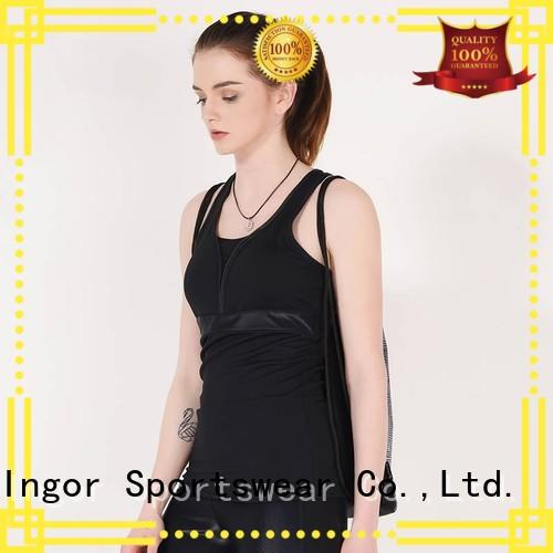 INGOR Brand bulk blank tight women's workout tank tops