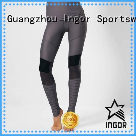 waisted women ladies leggings waist INGOR company