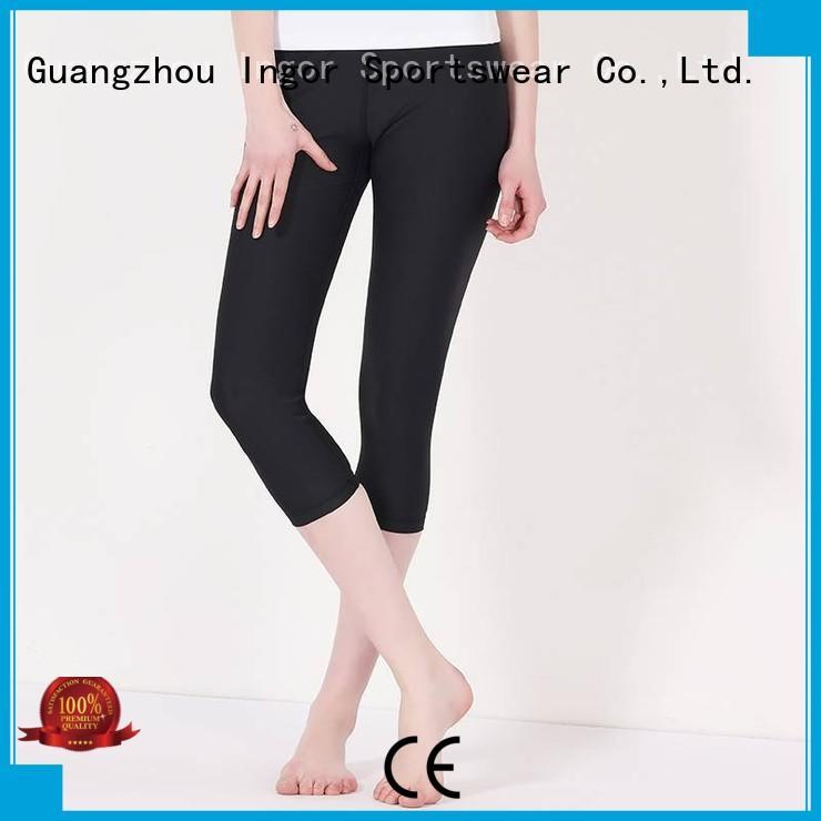 fashion tights black yoga pants tight INGOR