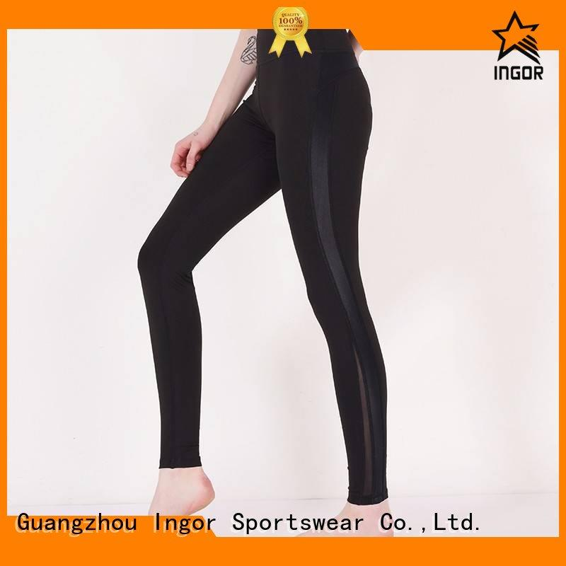 ladies leggings womens plain INGOR Brand company