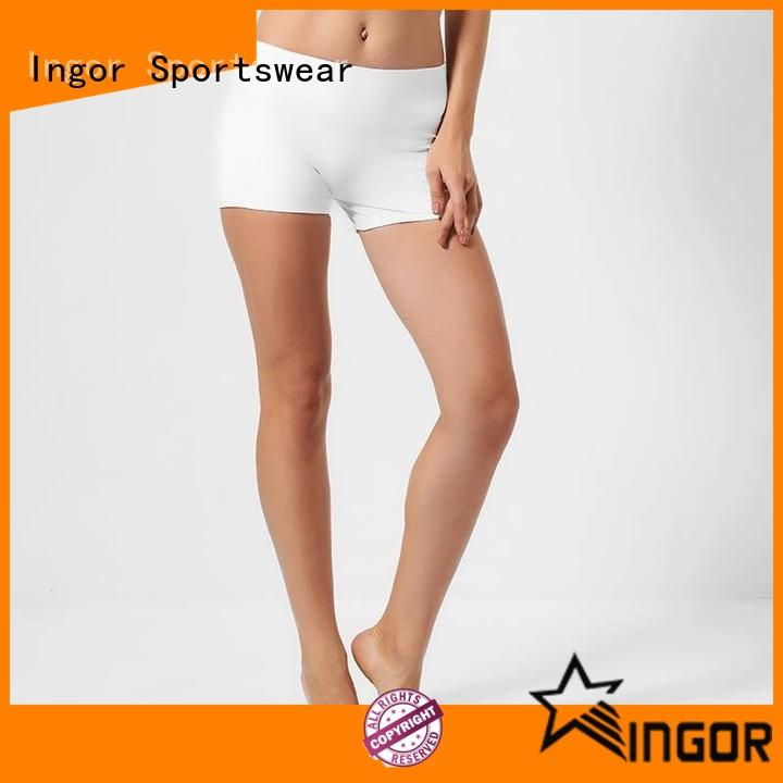 INGOR high quality yoga shorts with high quality for women